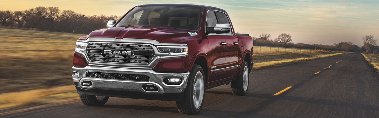 Exterior image of the 2020 Ram 1500 for sale