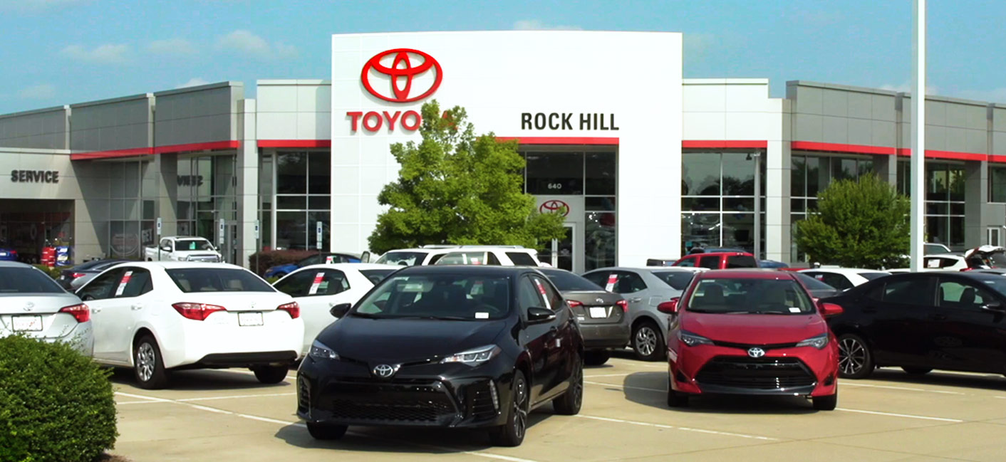 Toyota of Rock Hill has a large inventory of new & used cars available near Charlotte, NC