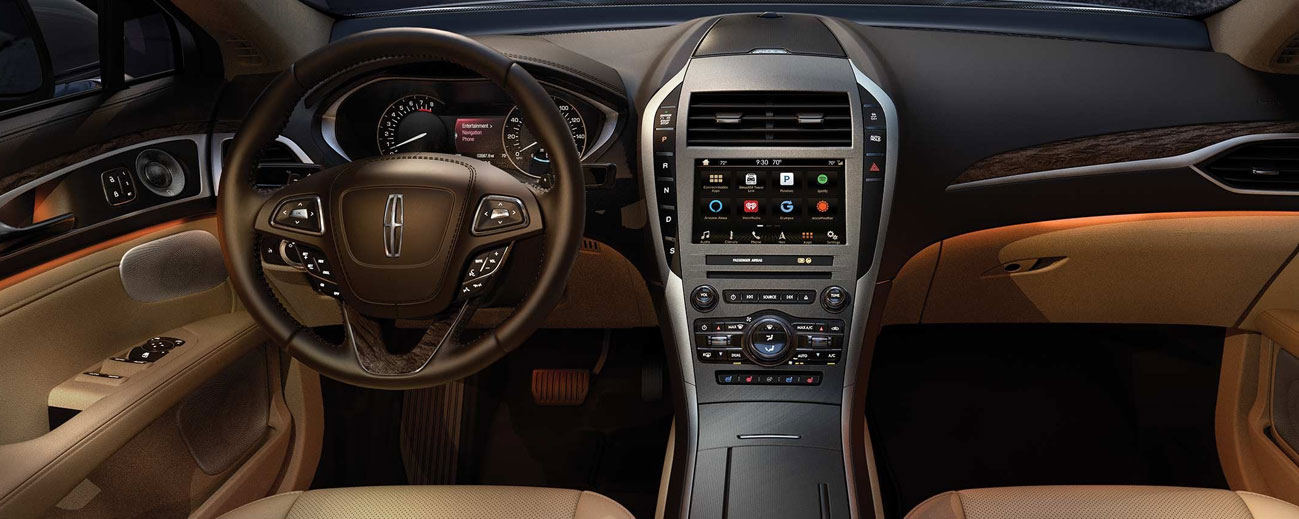 Safety features and interior of the 2019 Lincoln MKZ - available at our Lincoln dealership in Wilkes-Barre, PA.