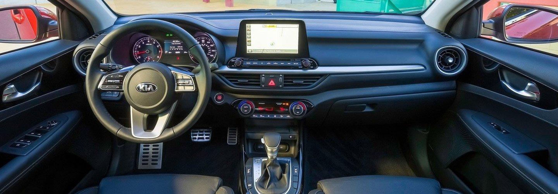 Interior image of the 2020 Kia Forte in Cleveland Ohio