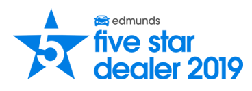 Edmunds 2019 Five Star Dealer