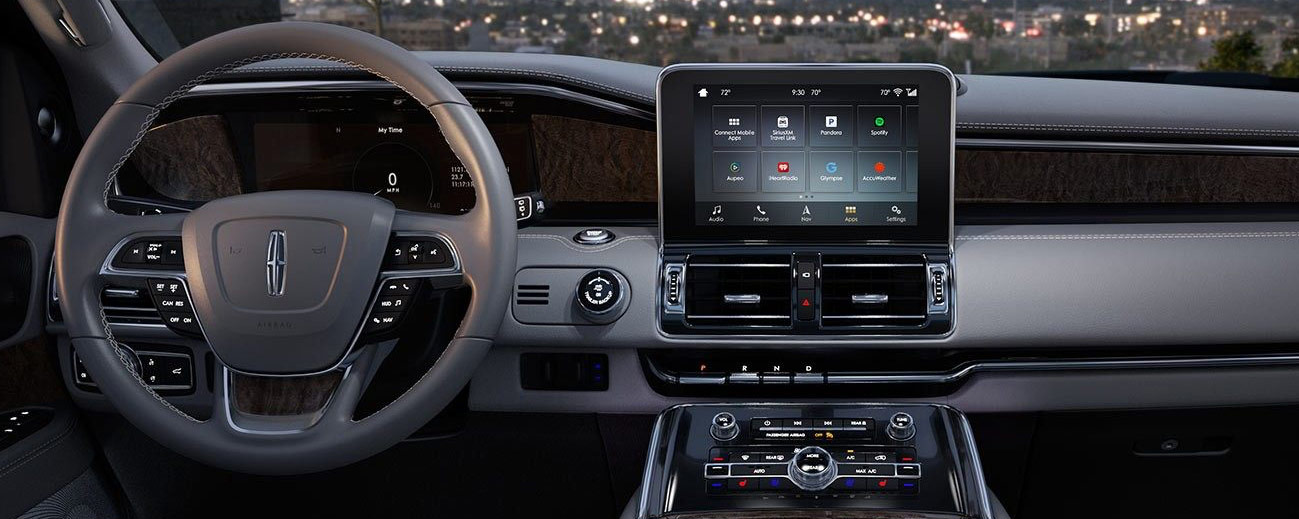 Safety features and interior of the 2018 Lincoln Navigator - available at our Lincoln dealership near Scranton.
