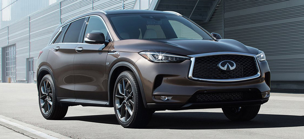The 2019 INFINITI QX50 is available at our INFINITI dealership in Oklahoma City, OK