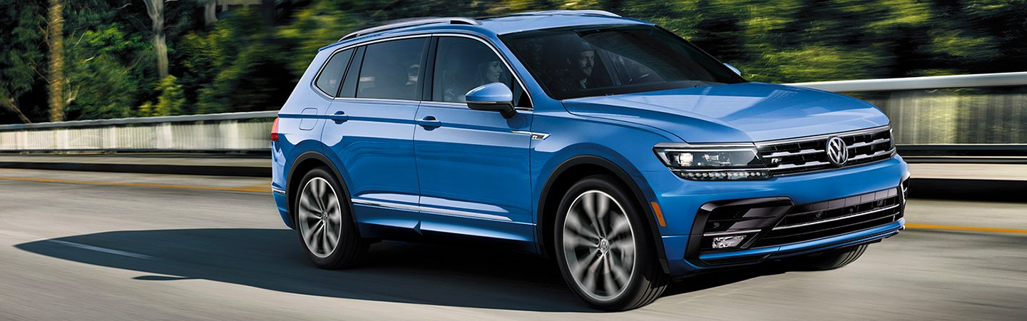 Exterior image of the 2020 VW Tiguan
