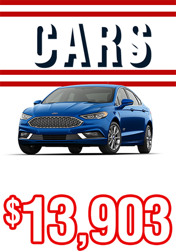 Cars From Only $13,903