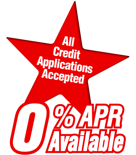 All Credit Is Virtually Approved 0% APR Available