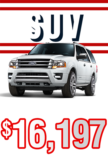 SUV From Only $16,197