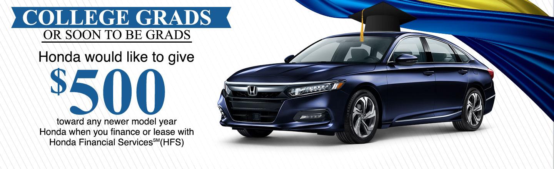 Honda College Graduate Rebate