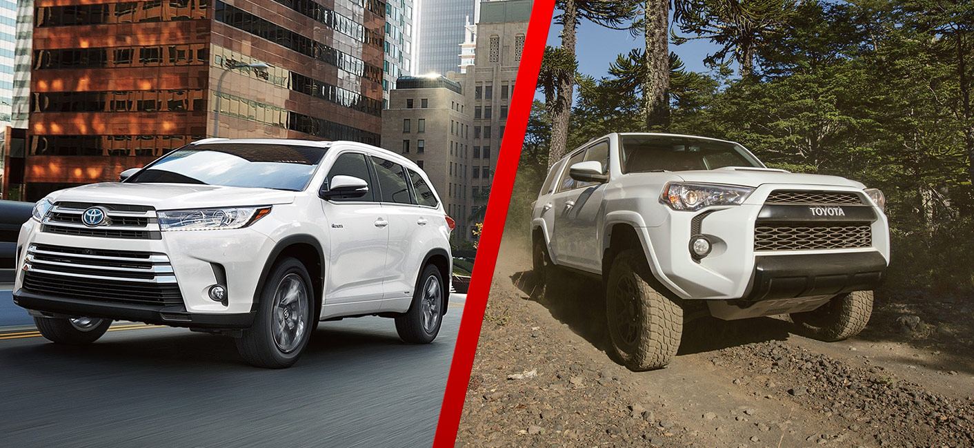 Toyota Highlander Vs Toyota 4Runner >> Toyota Highlander Vs 4runner Toyota Of Rock Hill Dealership