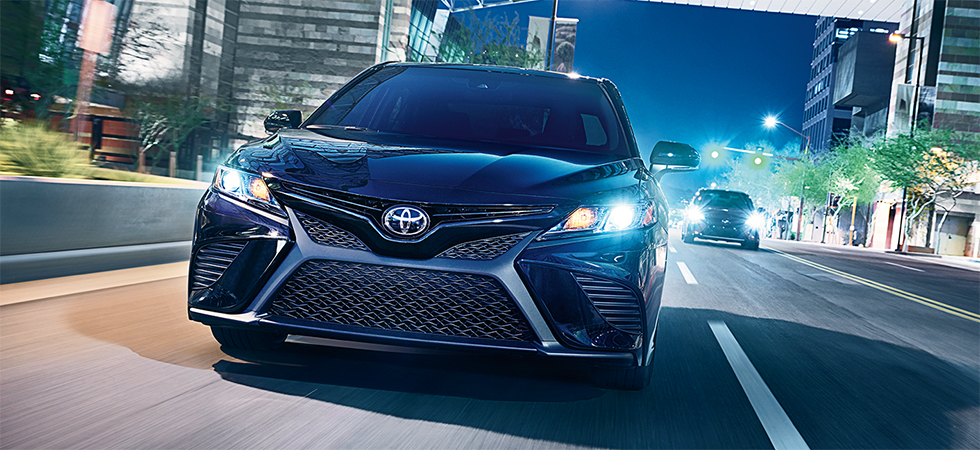 Compare the 2018 Toyota Camry and 2018 Hyundai Sonata at our Toyota dealership in Atlanta, GA.