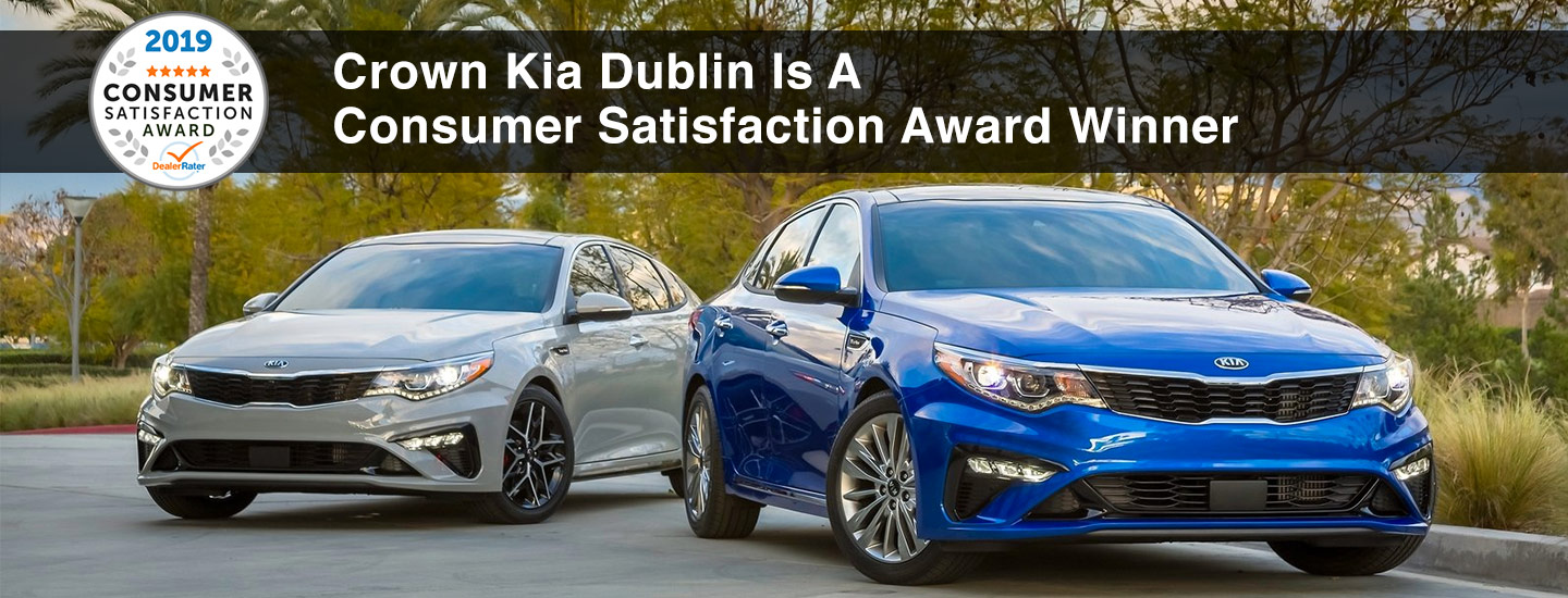 Crown Kia | Consumer Satisfaction Award Winner