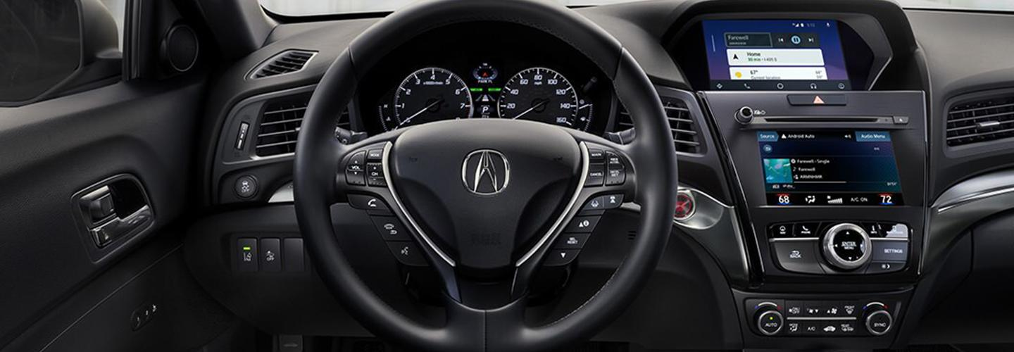 Interior image of the 2020 Acura ILX for sale.