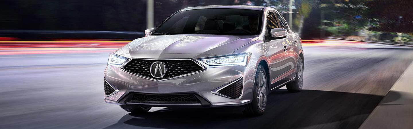 Picture of the Exterior of the New Acura ILX