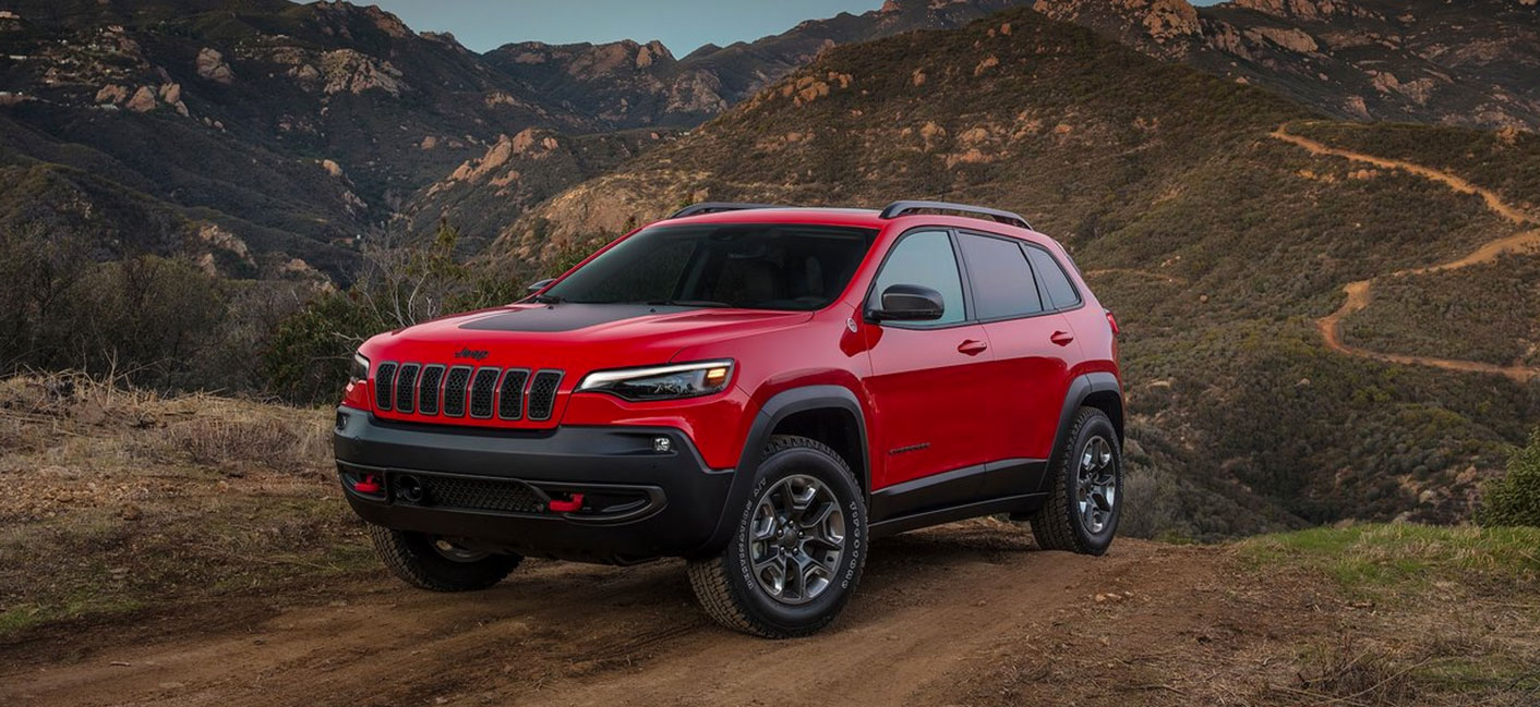 The 2019 Jeep Cherokee is available at Crown Chrysler Dodge Jeep RAM dealership in Dublin