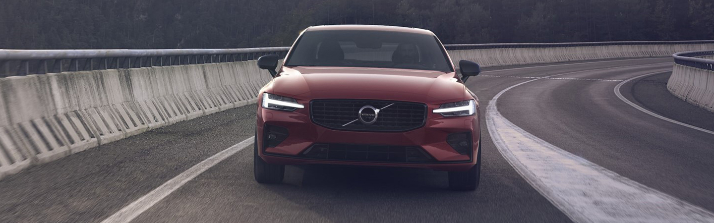 Front view of the 2021 S60
