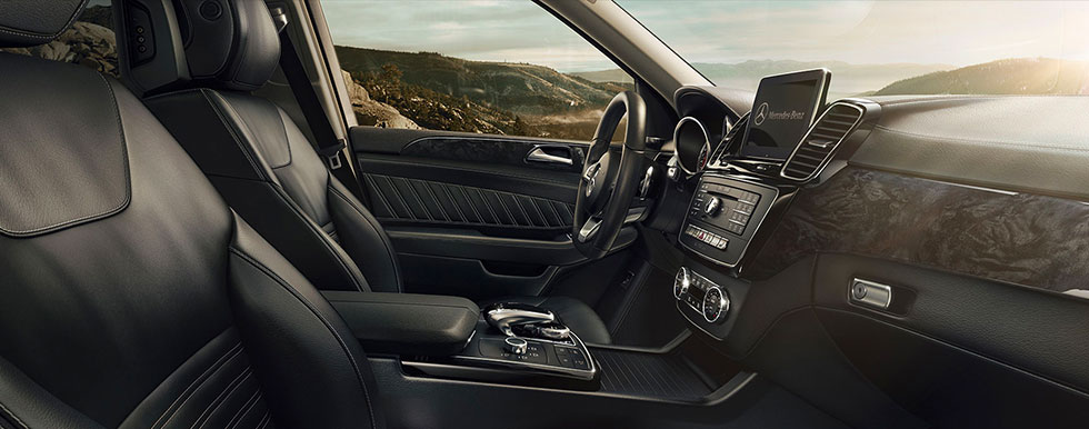 Safety features and interior of the 2019 Mercedes-Benz GLE - available at our Mercedes-Benz dealership in Augusta, GA.