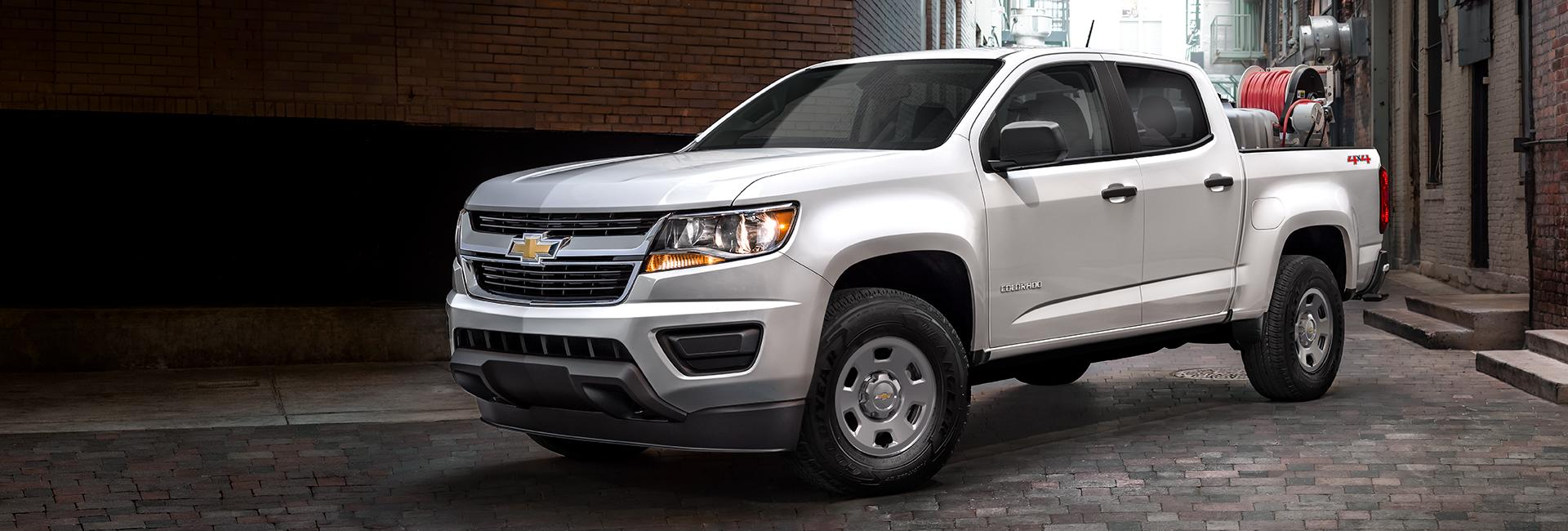 Exterior image of the new Chevy Colorado available at Spitzer Chevy Northfield