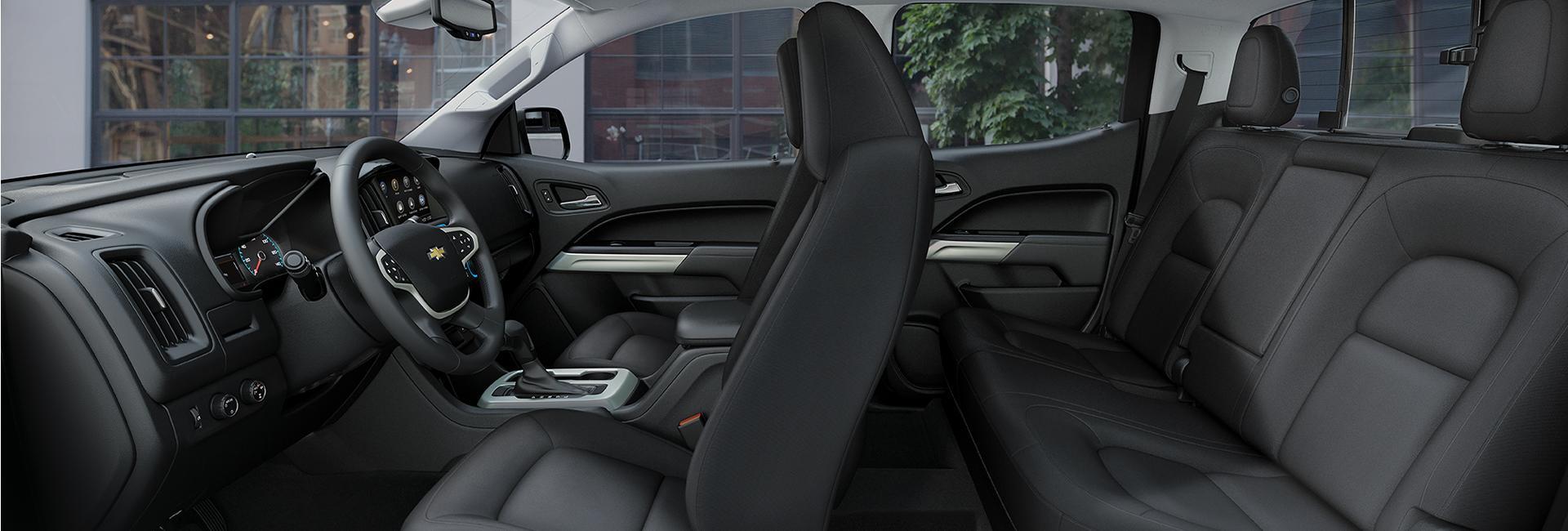Interior image of the 2020 Chevy Colorado