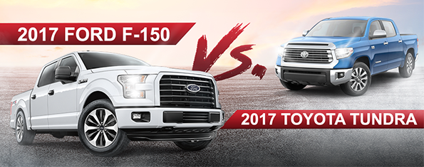 2017 F-150 vs. the 2017 Tundra