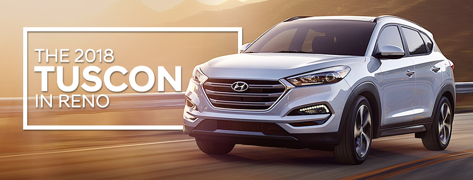 The 2018 Tucson is available at Lithia Hyundai in Reno, NV