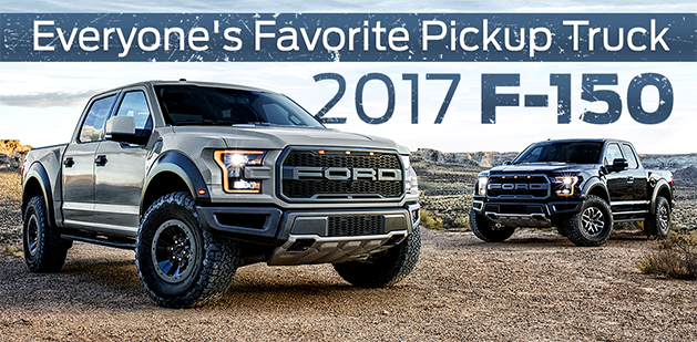 The 2017 F-150 is available at Zeigler Plainwell Ford near Portage, MI