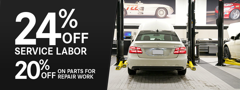 Coupon for Service Labor & Parts