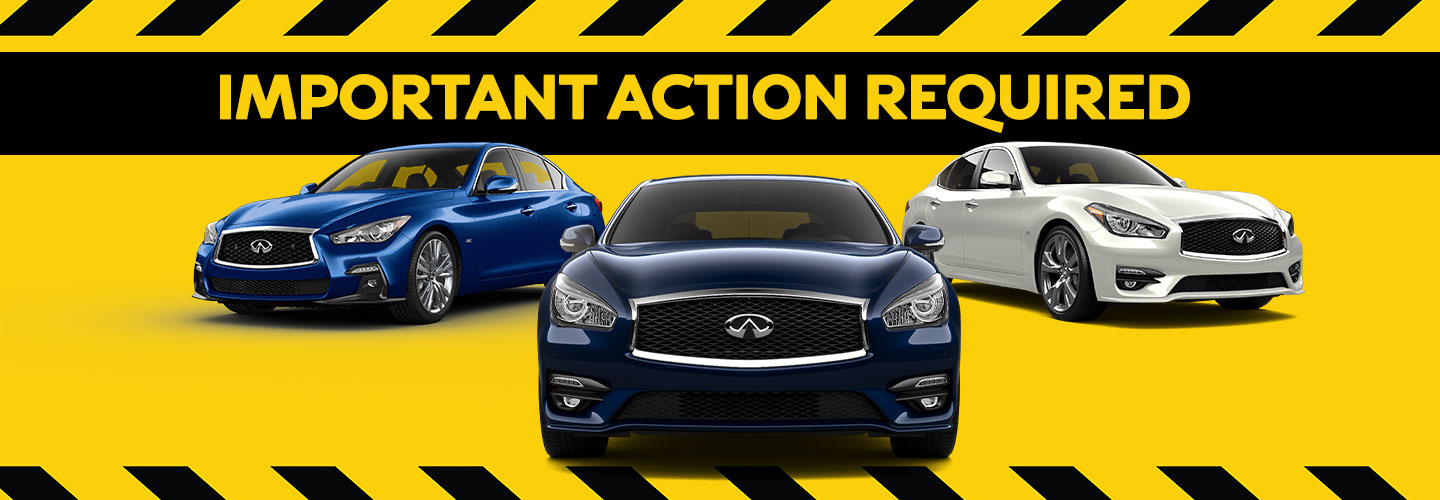 Your INFINITI Model May Be Subject To A Recall