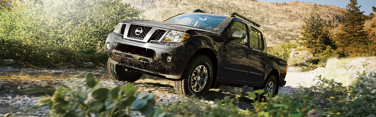 2019 Nissan Frontier going off road in Oklahoma City, OK