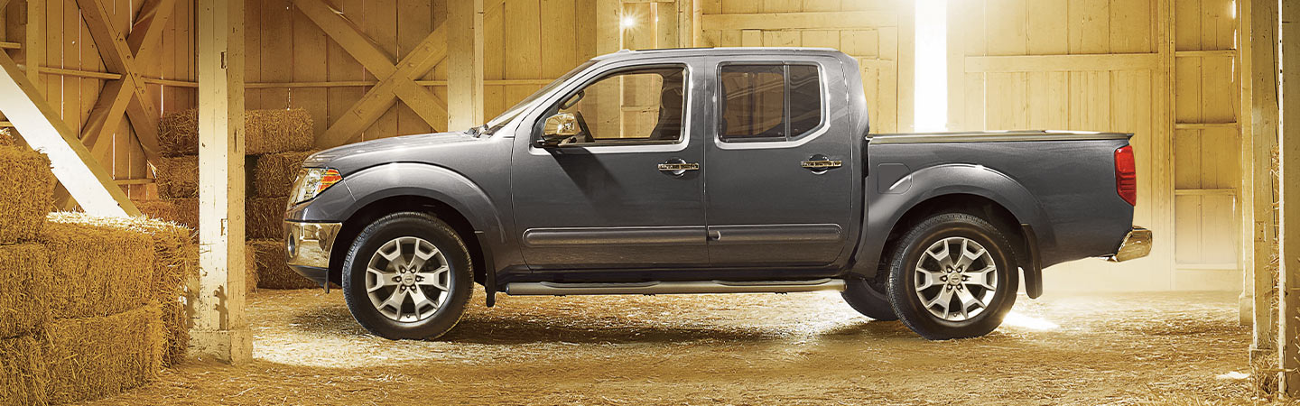 Side profile of the 2019 Nissan Frontier, available at Bob Moore Nissan