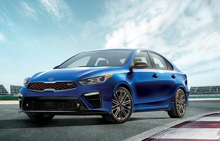 Exterior of the 2020 Kia Forte