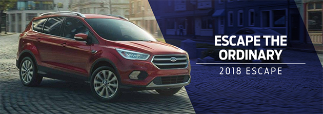The 2018 Escape is available at Zeigler Plainwell Ford near Kalamazoo, MI