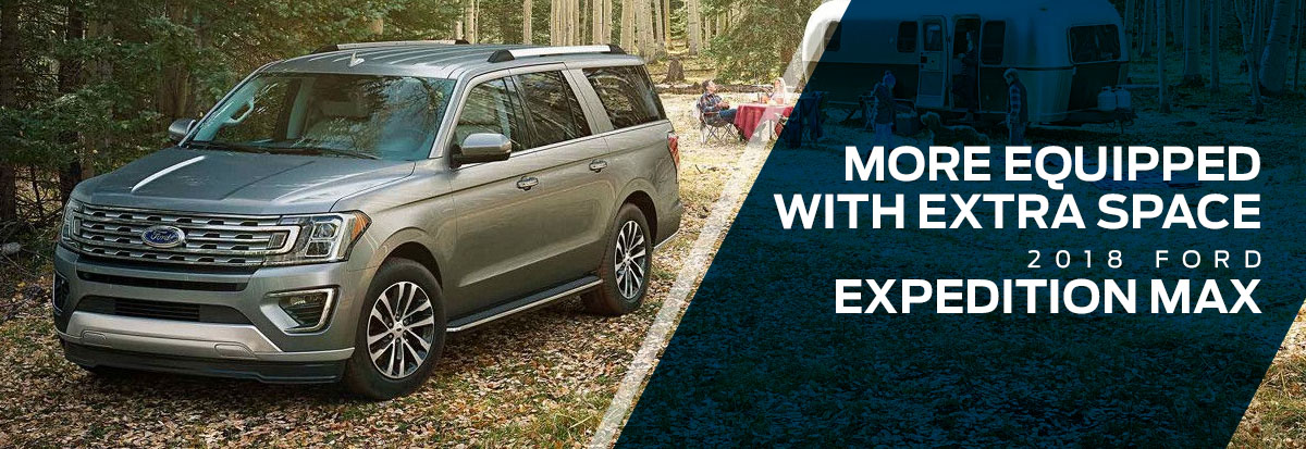 The 2018 Expedition MAX is available at Waldorf Ford near Alexandria, VA