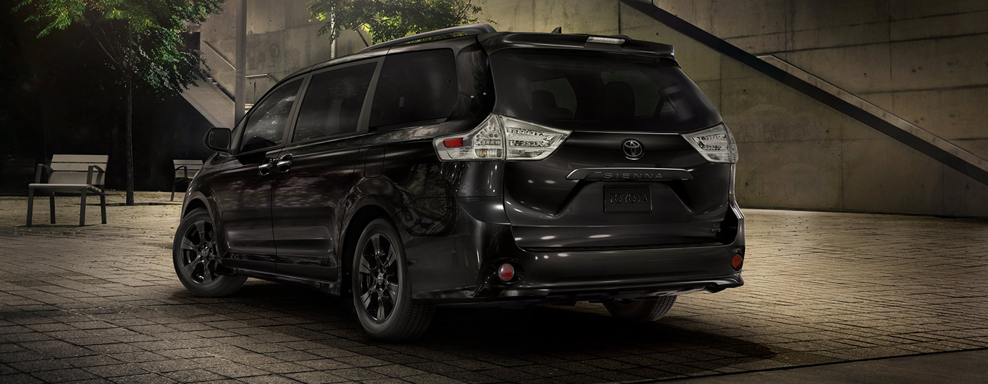 Exterior of the 2020 Toyota Sienna at our car dealership in Atlanta