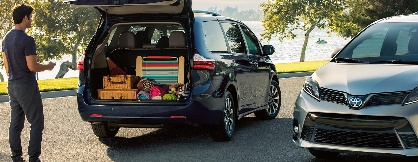 Exterior of the 2020 Toyota Sienna available at World Toyota