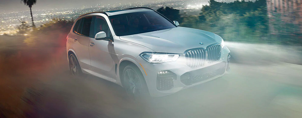 Exterior of the 2019 BMW X5 - available at our BMW dealership in Columbia, SC.