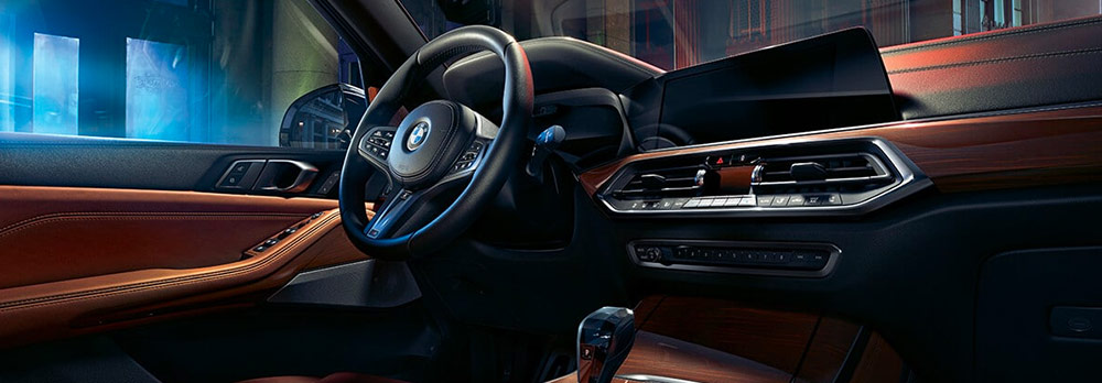 Safety features and interior of the 2019 BMW X5 - available at our BMW dealership in Columbia, SC.