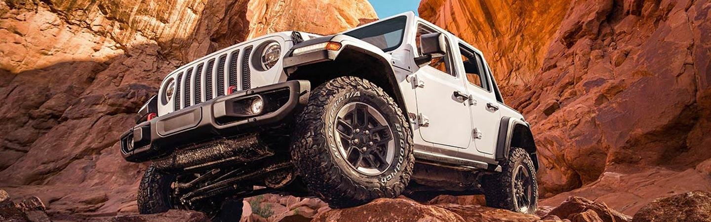 Exterior image of the 2020 Jeep Wrangler