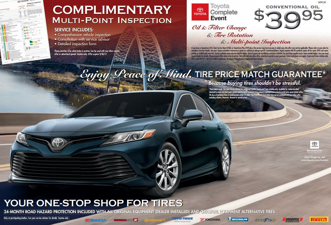 Sponsor the promotion is sponsored by toyota motor sales u s a inc 19001 south western avenue torrance california 90501