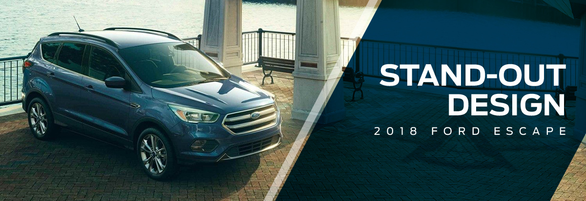 The 2018 Escape is available at Waldorf Ford near Alexandria, VA