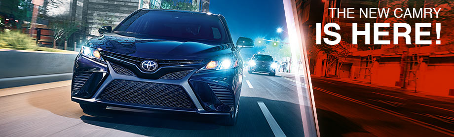 The 2018 Camry is available at Lipton Toyota near Pompano Beach, FL
