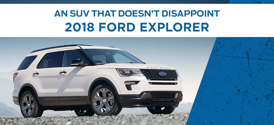 The 2018 Ford Explorer is available at Al Packer's White Marsh Ford in White Marsh, MD