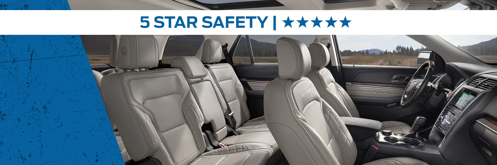 Safety features and interior of the 2018 Ford Explorer - available at Al Packer's White Marsh Ford near Baltimore, MD and Towson, MD