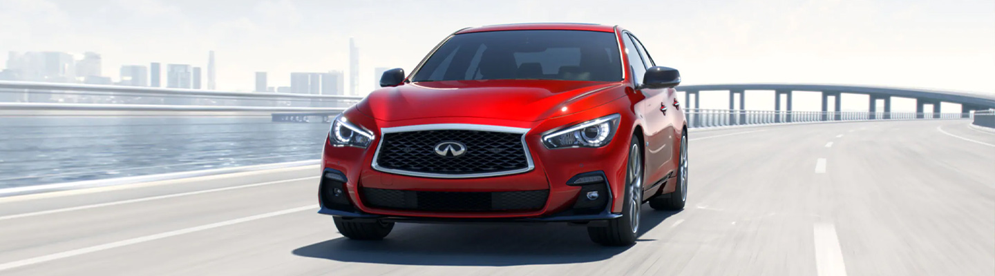 The 2019 INFINITI Q50 is available at our INFINITI dealer in Oklahoma City, Bob Moore INFINITI.
