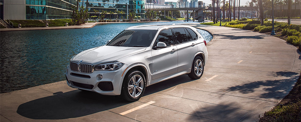 Exterior of the 2018 BMW X5 at BMW of Sarasota near Bradenton, FL
