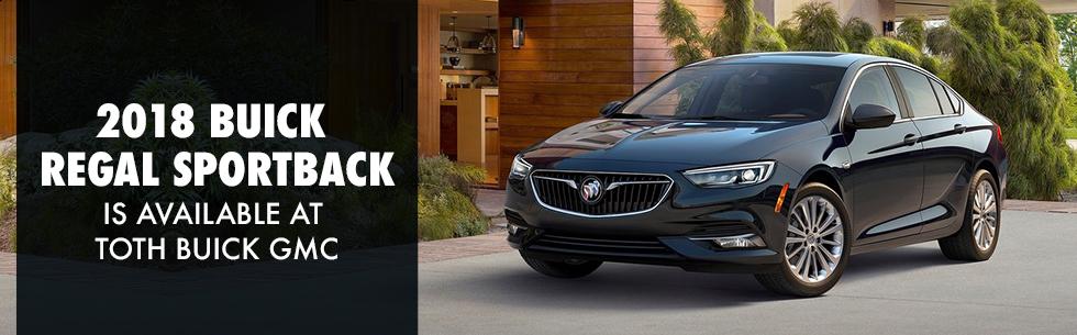2018 Buick Regal Sportback For Sale   Toth Buick GMC Dealership