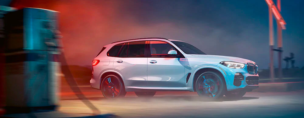 Exterior of the 2019 BMW X5 - available at our car dealer in Columbia, SC.