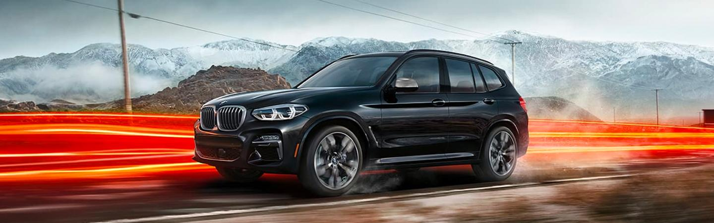 2020 BMW X3 in motion