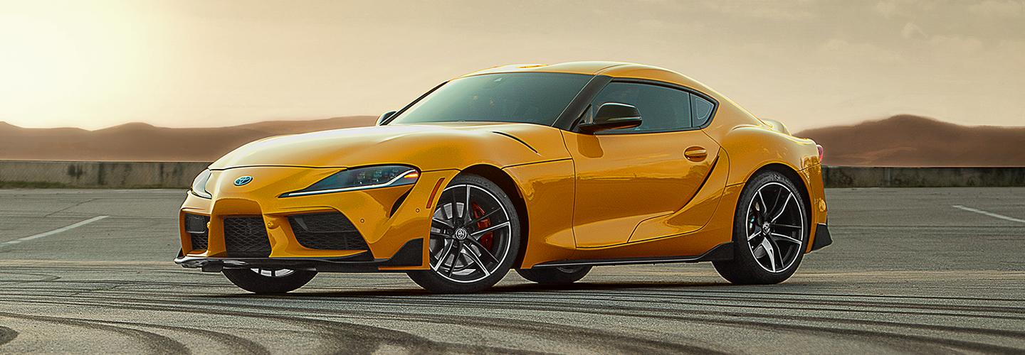 The performance & luxury car, the new 2020 Toyota Supra for sale.