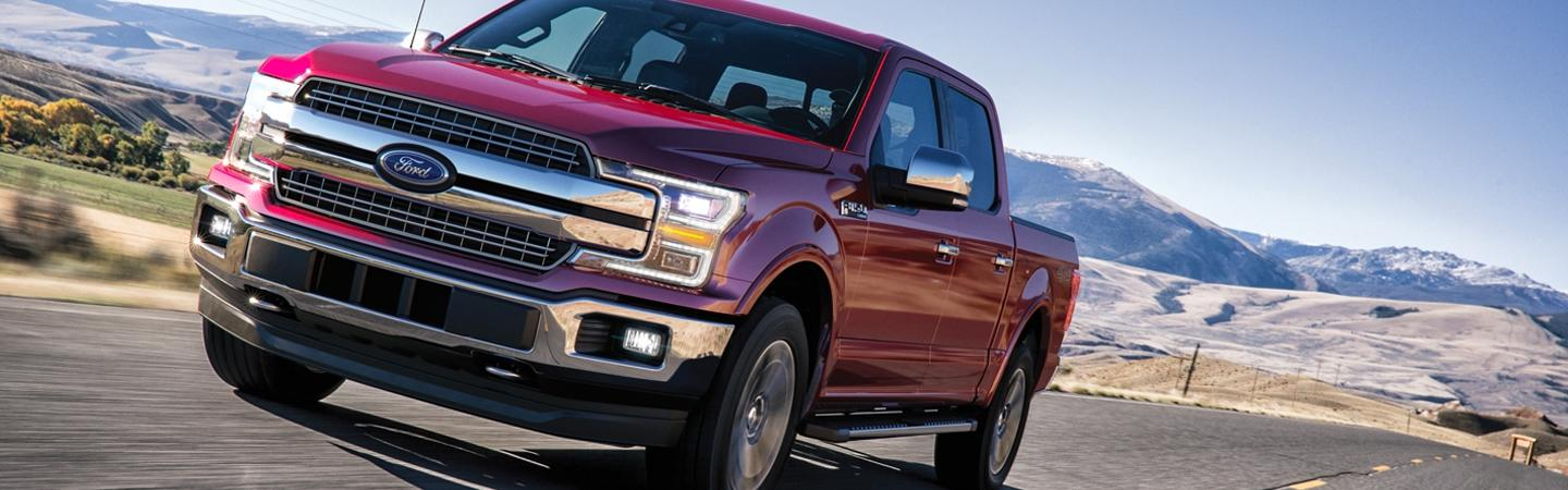 Exterior of the 2020 Ford F-150 for sale at Marlow Ford