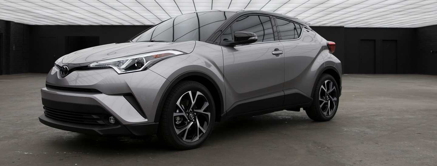 The 2019 Toyota C-HR is available at our Toyota dealership in Columbus, GA.